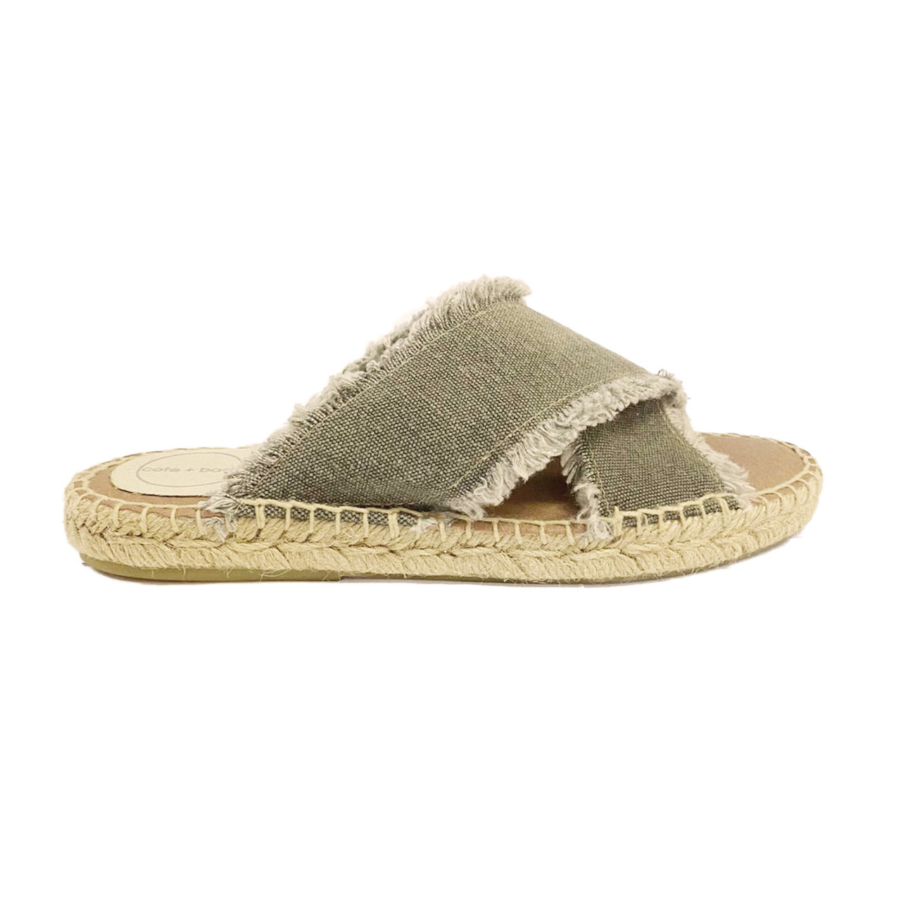 AGATTA Charcoal espadrilles - Badt and Co - singapore