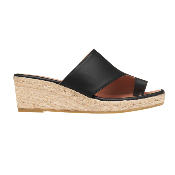AMANKAI Black espadrilles - Badt and Co - singapore