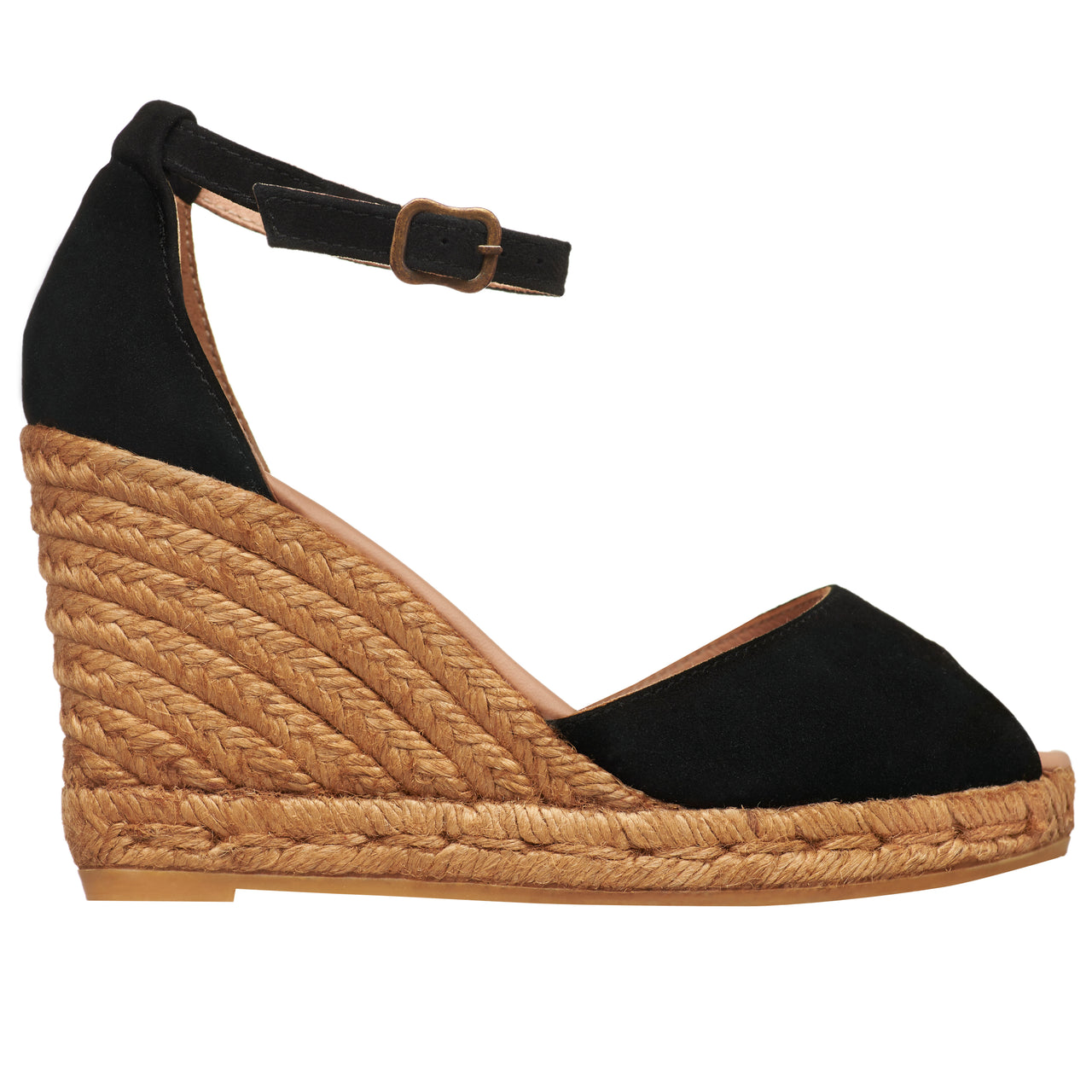 CADAQUES Black espadrilles - Badt and Co - singapore