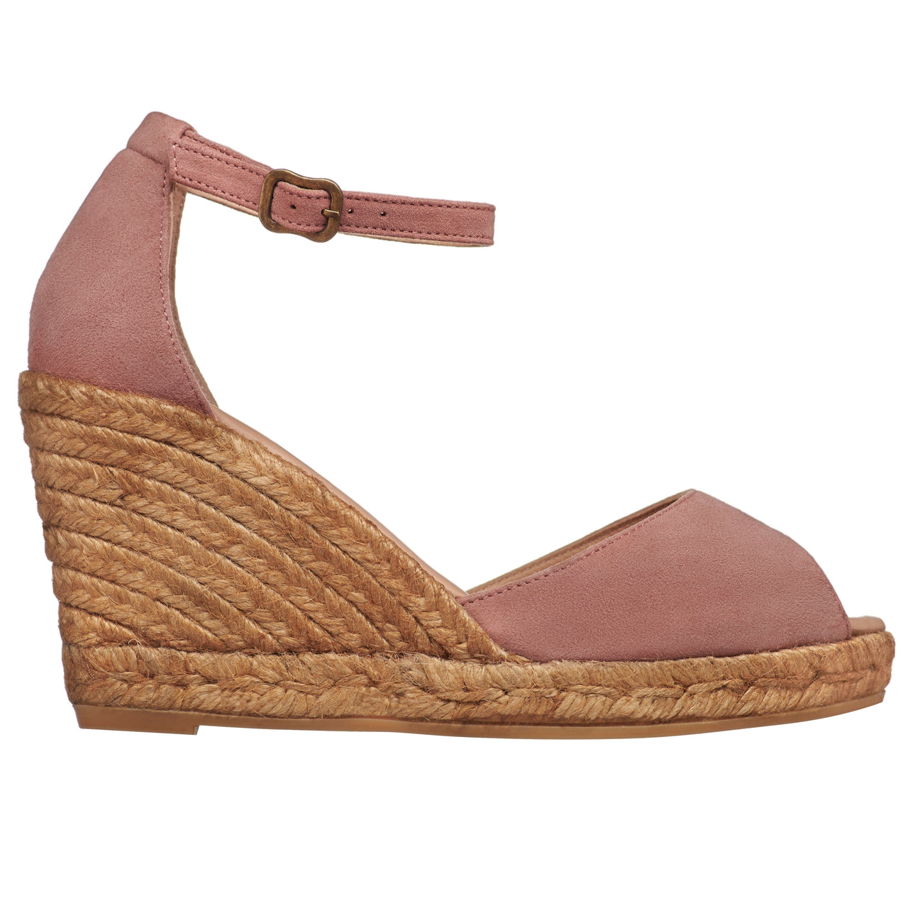 CADAQUES  Blush espadrilles - Badt and Co - singapore