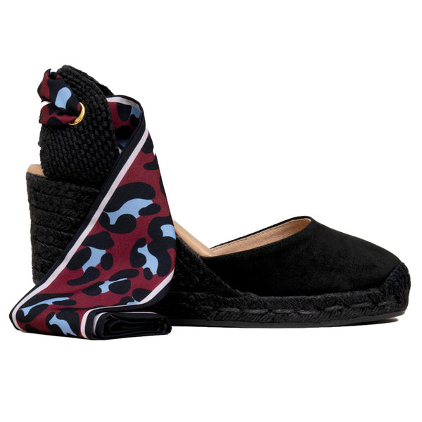 GLOBO Black espadrilles - Badt and Co - singapore