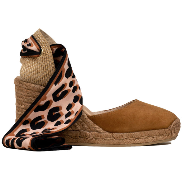 GLOBO Brown espadrilles - Badt and Co - singapore