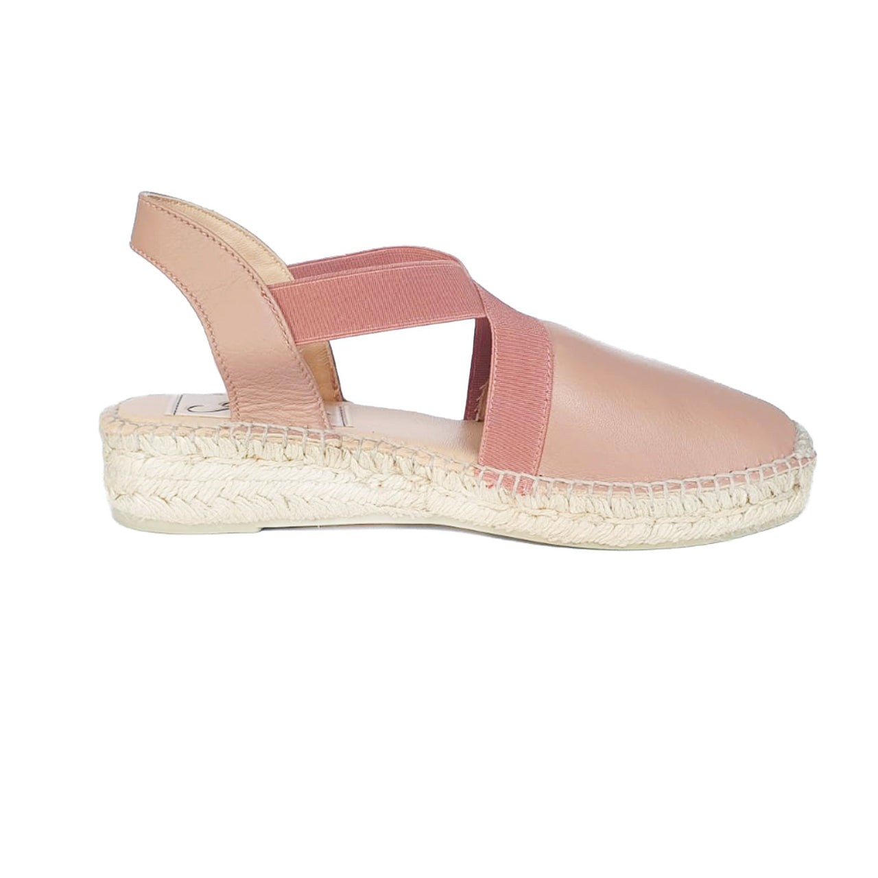 PAOLA Blush espadrilles - Badt and Co - singapore
