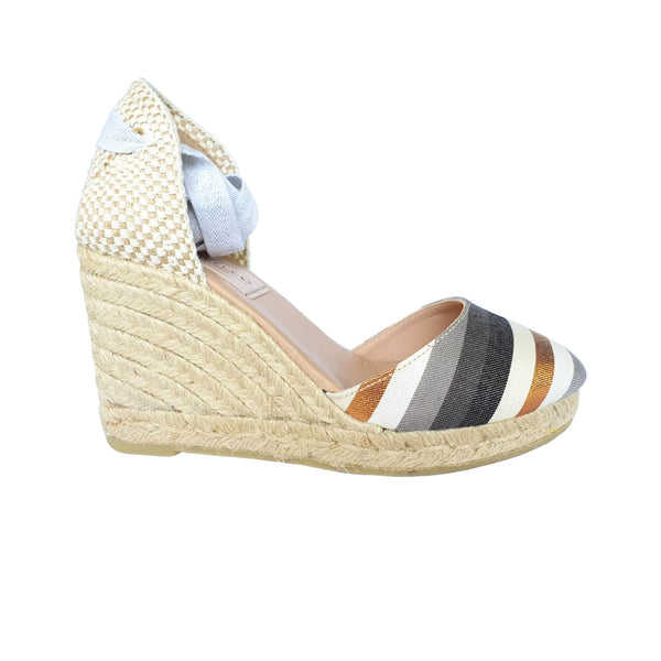 COLIN Rose Gold espadrilles - Badt and Co - singapore