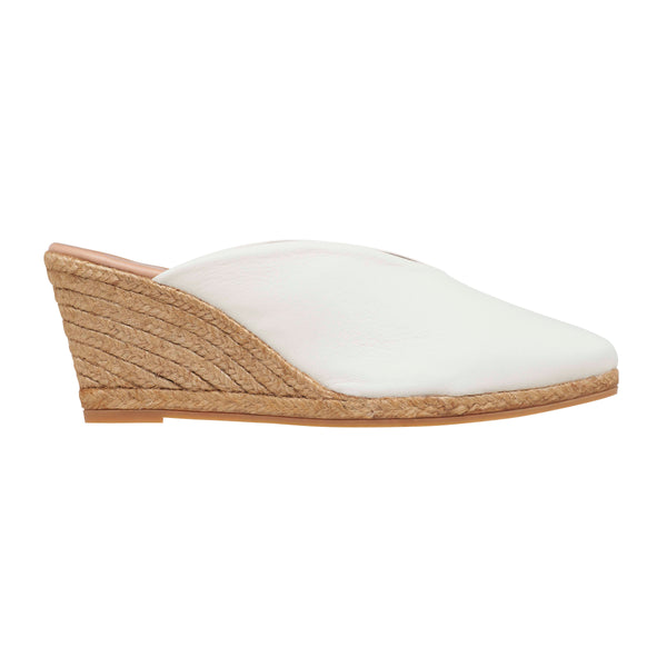 TAMINA Ivory espadrilles - Badt and Co - singapore