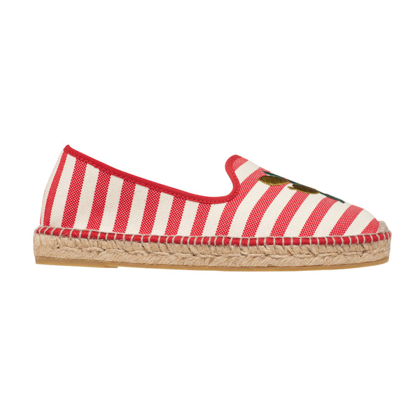 TONSON Red espadrilles - Badt and Co - singapore
