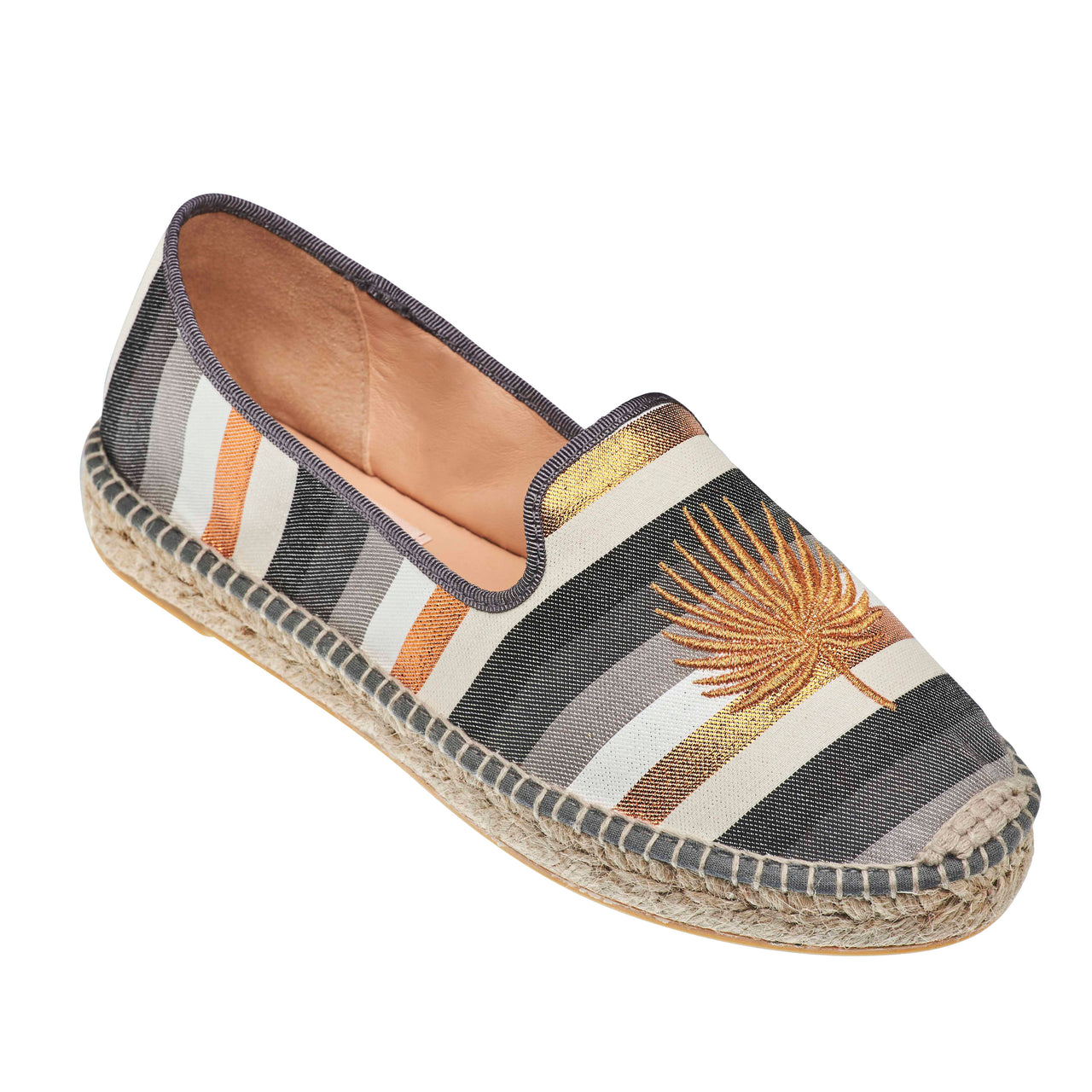 TONSON Rose Gold espadrilles - Badt and Co - singapore