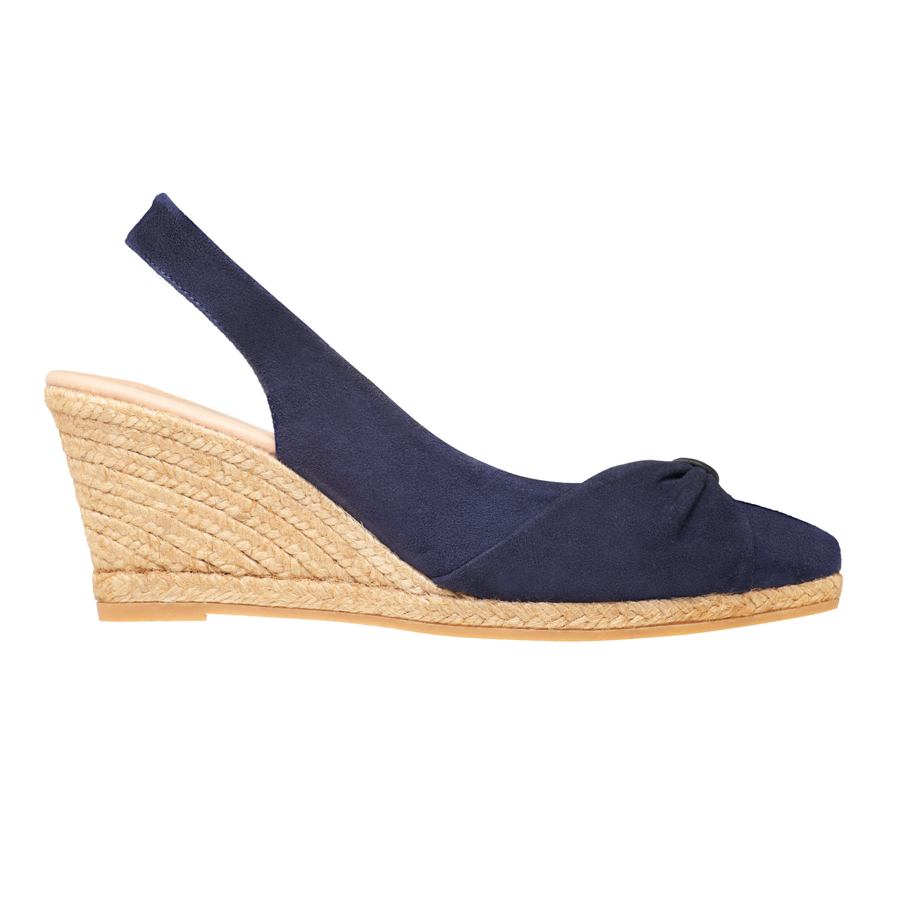 TYSON Midnight Blue espadrilles wedges - Badt and Co - singapore