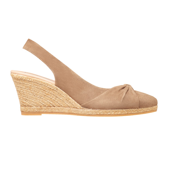 TYSON Nude espadrilles - Badt and Co - singapore