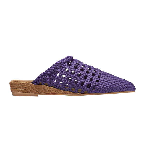 YIRVIN Purple espadrilles - Badt and Co - singapore