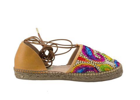 PAM KIDS Napa Leather espadrilles