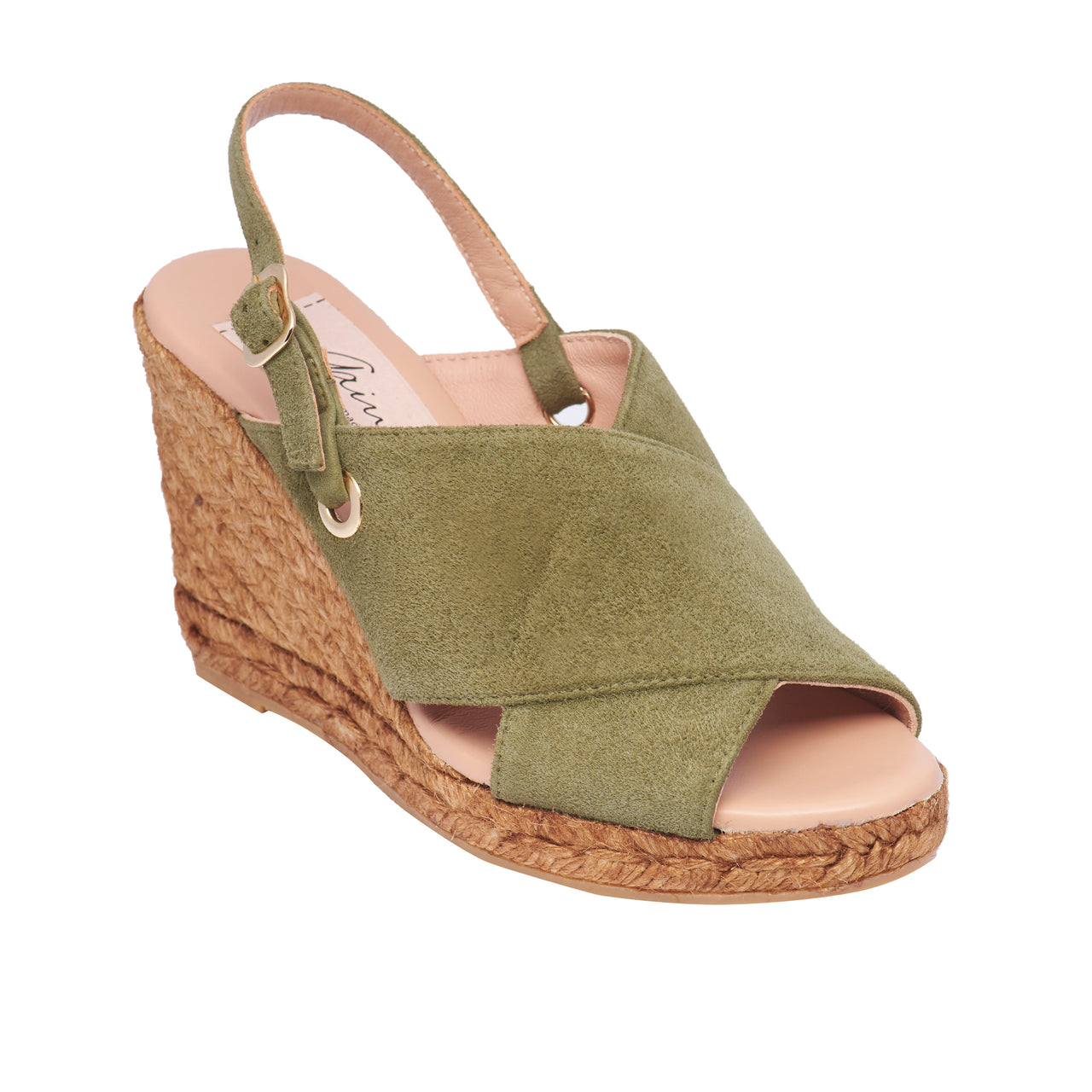 GUERIN Olive espadrilles - Badt and Co - singapore