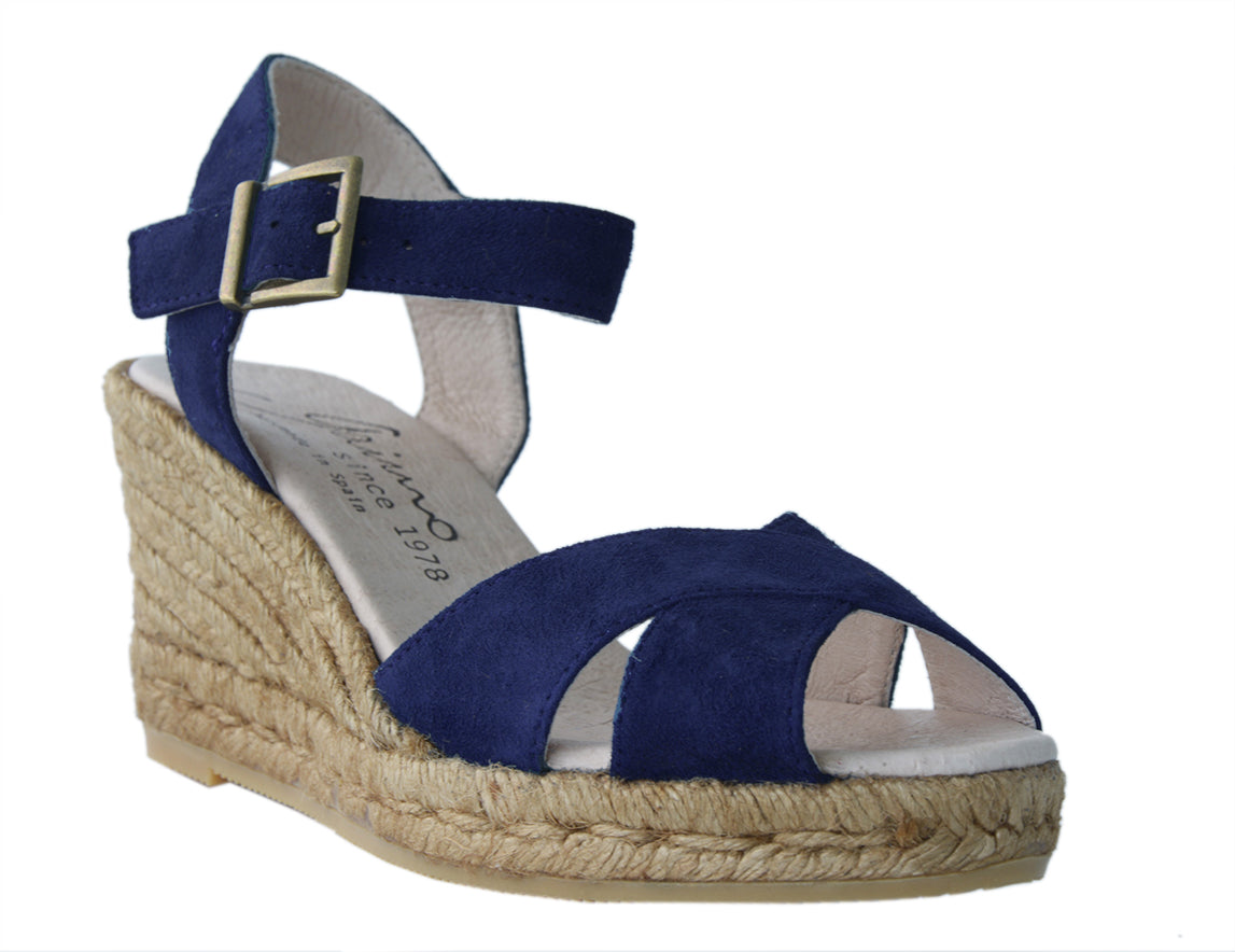 MARBELLA Navy espadrilles - Badt and Co - singapore