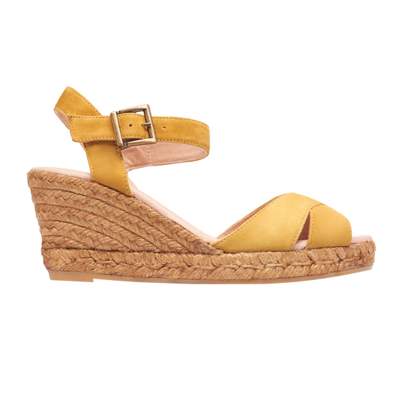 MARBELLA OCHRE espadrilles - Badt and Co - singapore