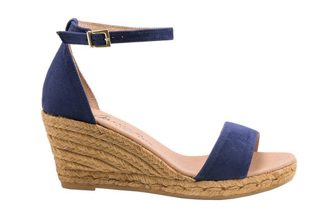 GUERIN NUDE and BLACK espadrilles