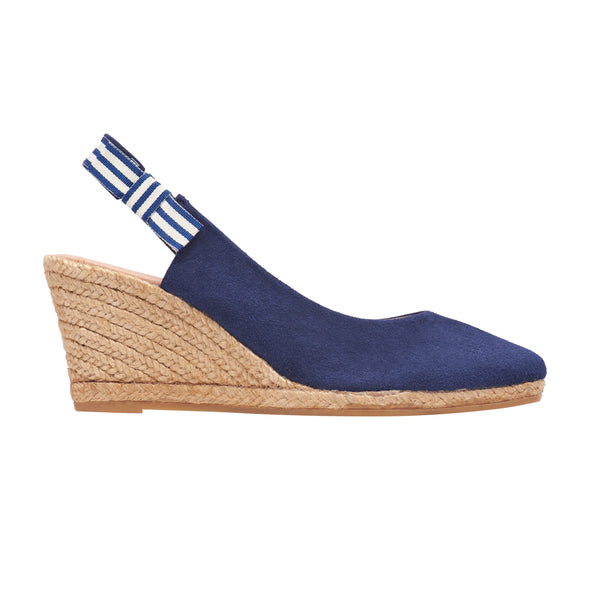TAYLOR Midnight Blue espadrilles [sizes 35, 40, 41 available]