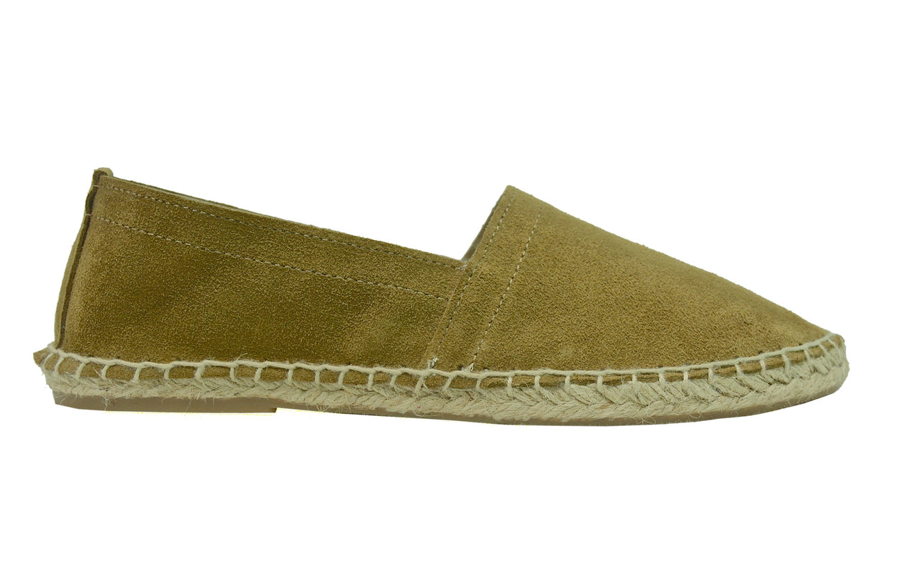 VELVET Khaki espadrilles [size 40 available]