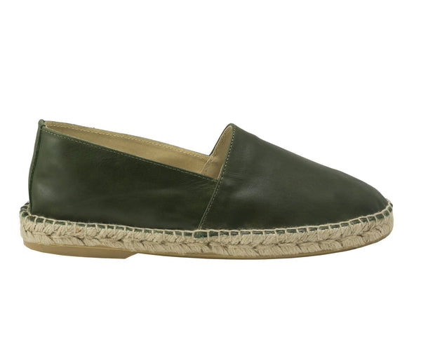 ZEN Dark Green, Tan, Grey and Electric Blue espadrilles for Men - Badt and Co - singapore