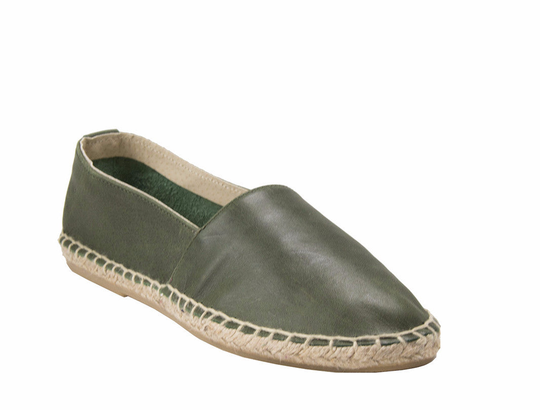 ZEN Leather Flats