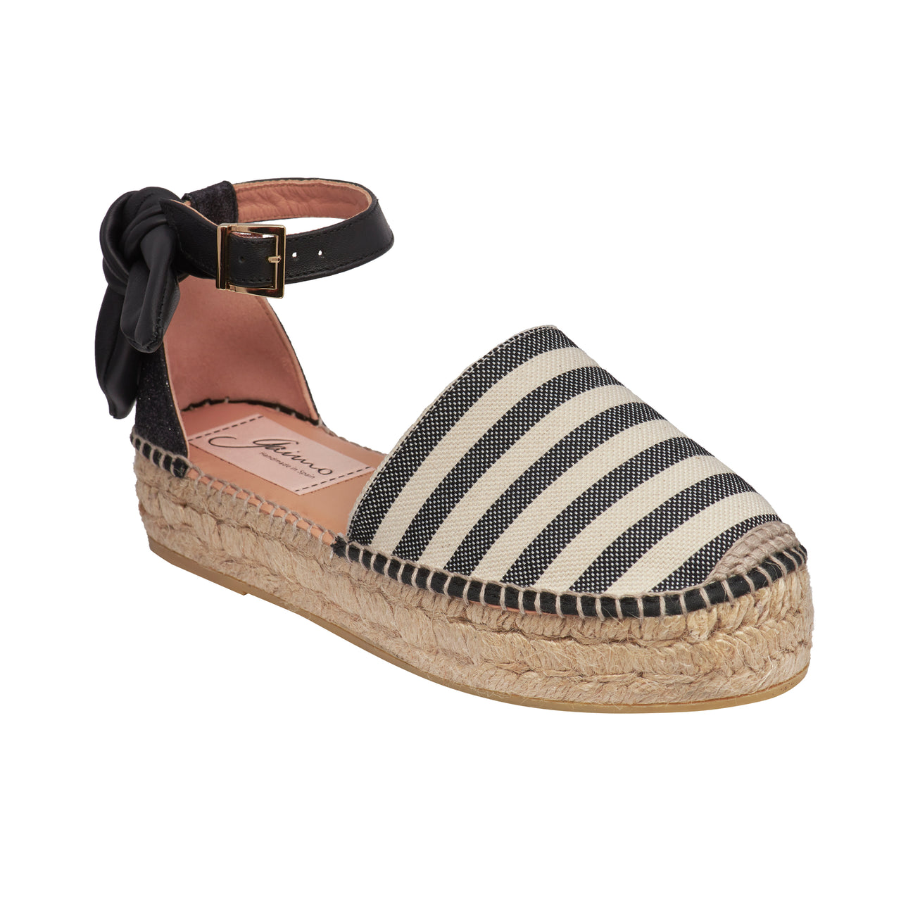 DIVO Black espadrilles - Badt and Co - singapore