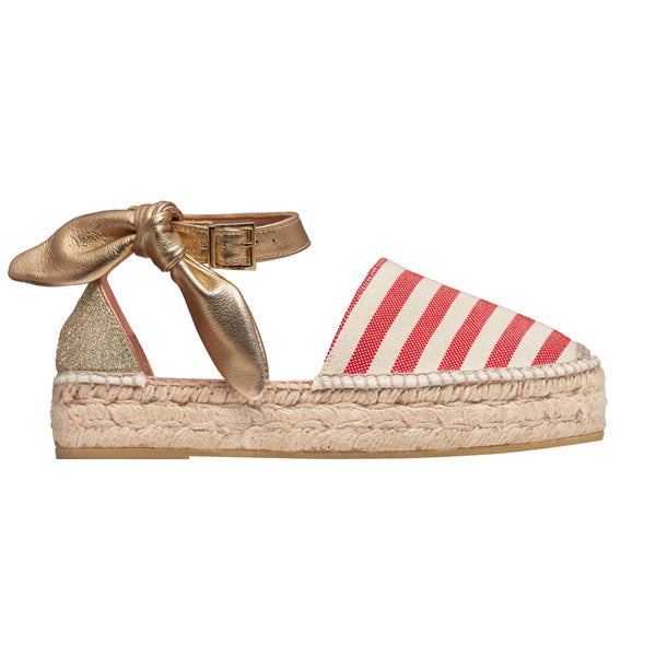 DIVO Red espadrilles - Badt and Co - singapore