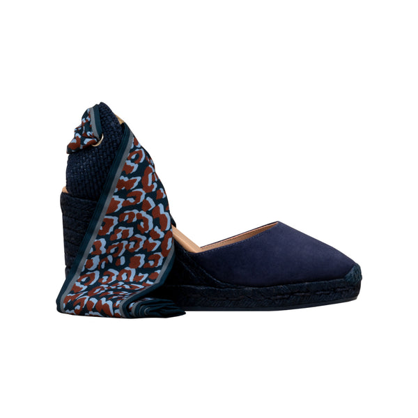 GLOBO Midnight Blue espadrilles