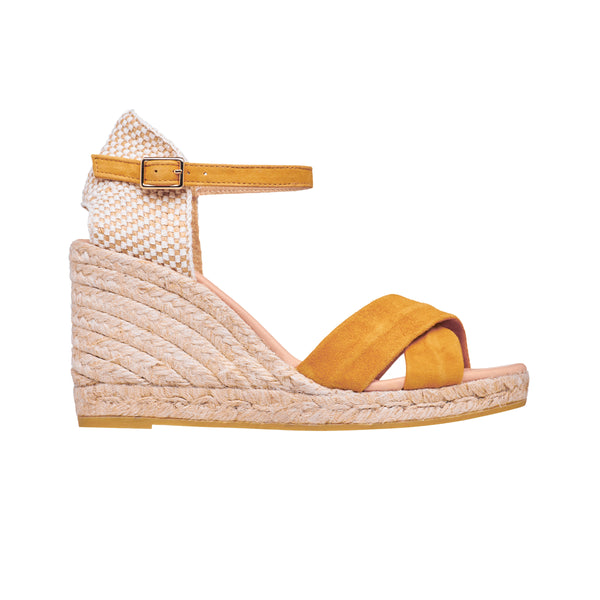 GARRY Ochre espadrilles - Badt and Co - singapore