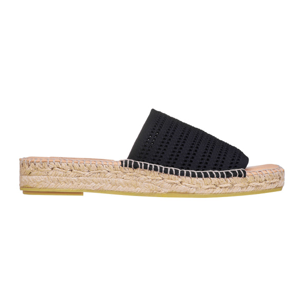 GLADIS Black espadrilles - Badt and Co - singapore