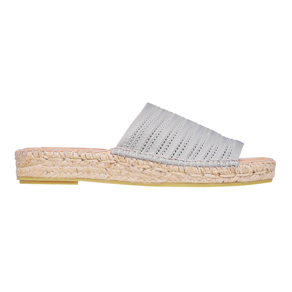 GLADIS Grey espadrilles - Badt and Co - singapore