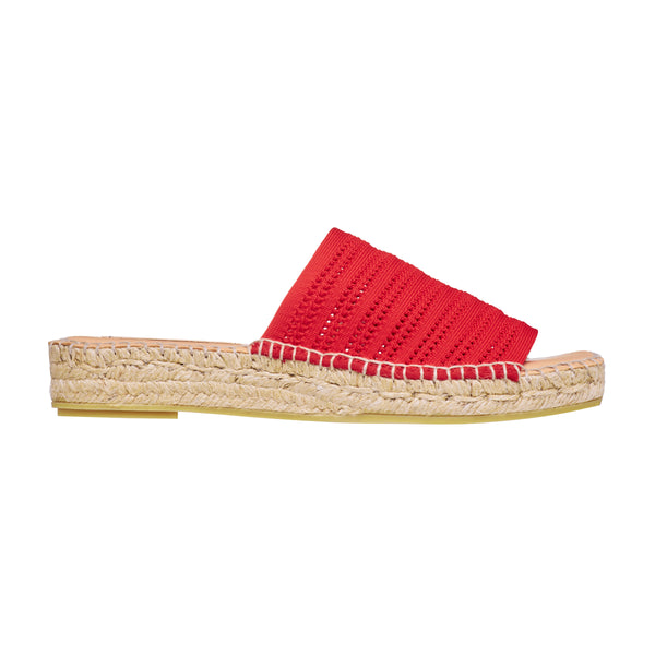 GLADIS Red espadrilles - Badt and Co - singapore