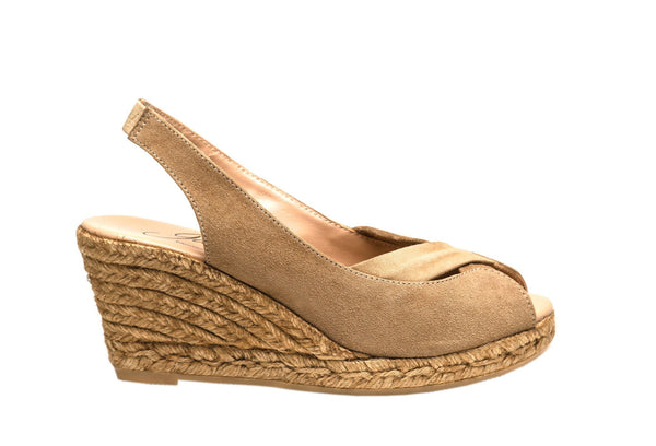 GLENDA SUEDE espadrilles - Badt and Co - singapore