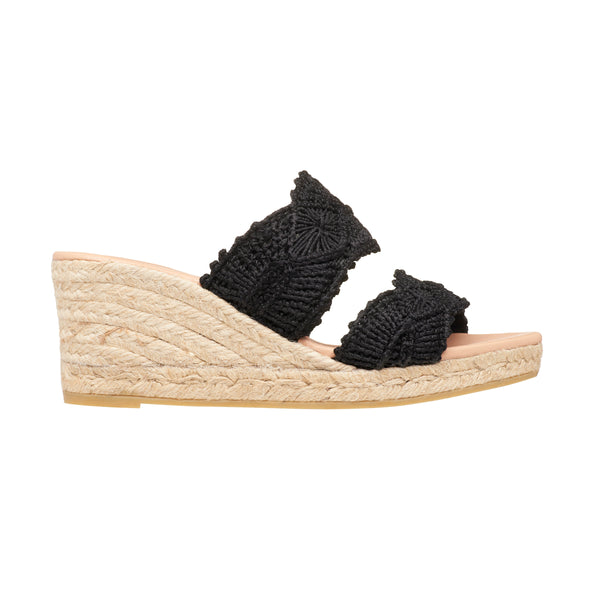 GOMO Black espadrilles - Badt and Co - singapore