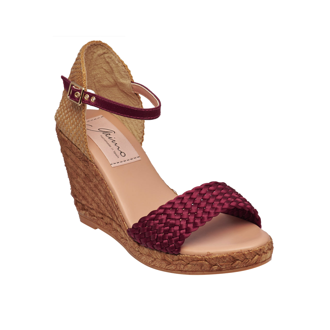 HONEY Maroon espadrilles [sizes 40, 41 available]