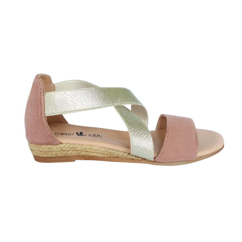 NOVER Kids Blush espadrilles - Badt and Co - singapore