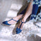 TUREIS Midnight Blue espadrilles - Badt and Co - singapore