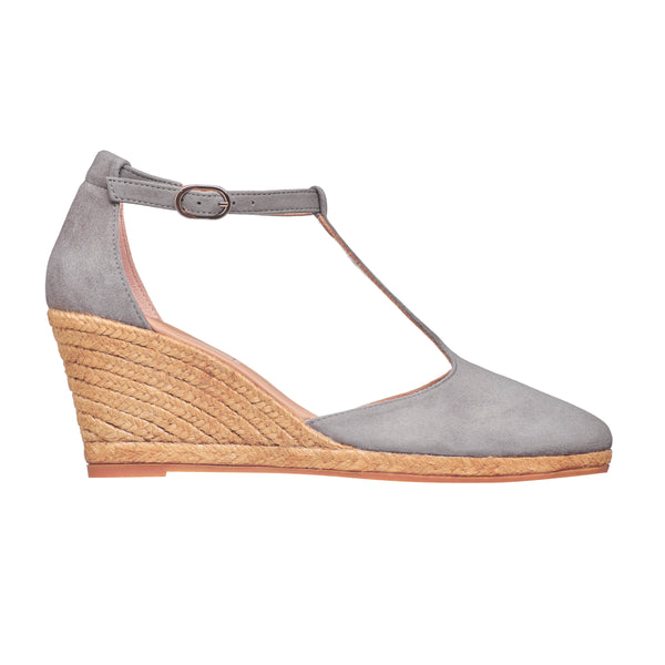 TUREIS Grey espadrilles - Badt and Co - singapore