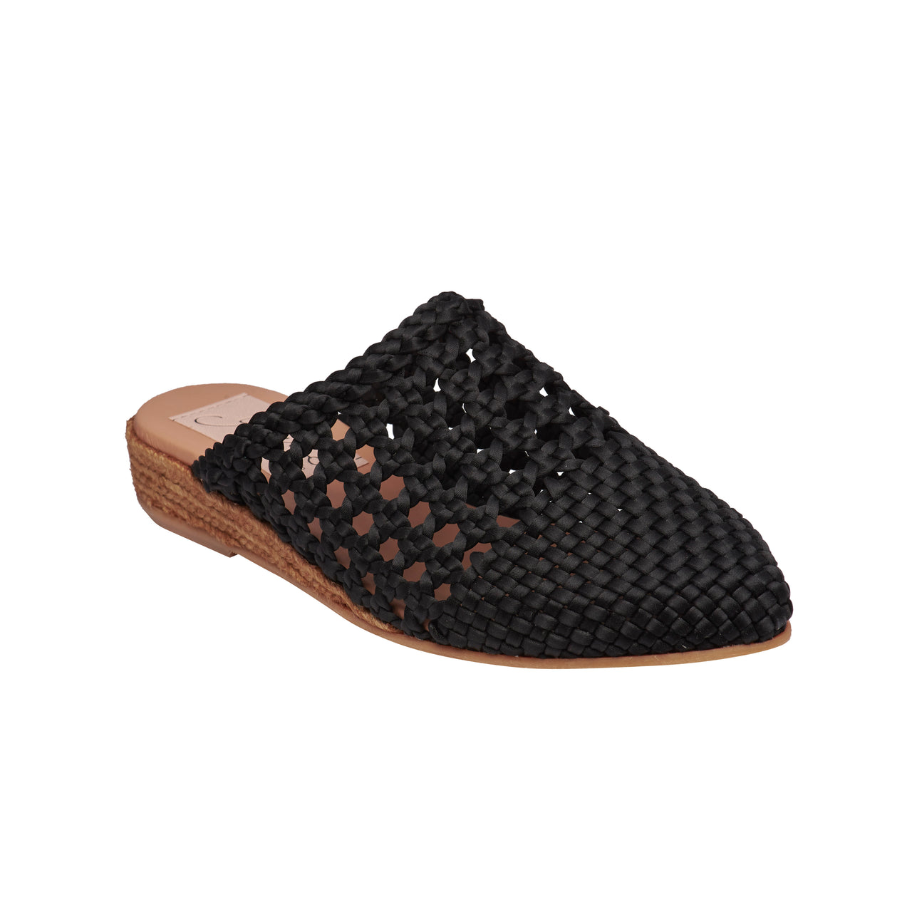 YIRVIN Black espadrilles [sizes 36, 38, 40, 41 available]