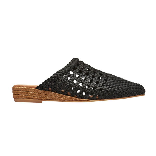 YIRVIN Black espadrilles - Badt and Co - singapore