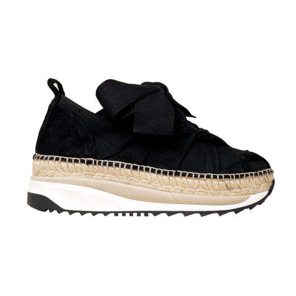 VENUS Black sneakers - Badt and Co - singapore