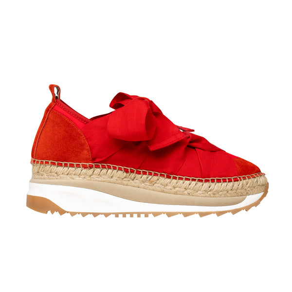 VENUS Red sneakers - Badt and Co - singapore