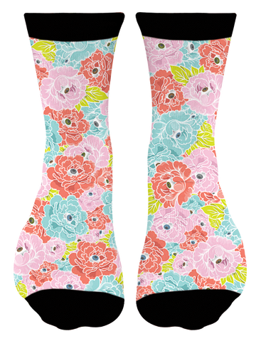"""Flower Eyes"" Socks"