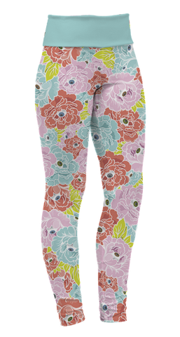 """Flower Eyes"" Leggings"