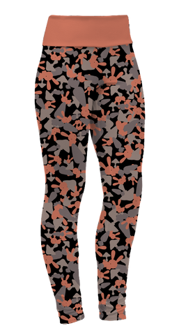 """Bun Bun Camo"" Leggings"