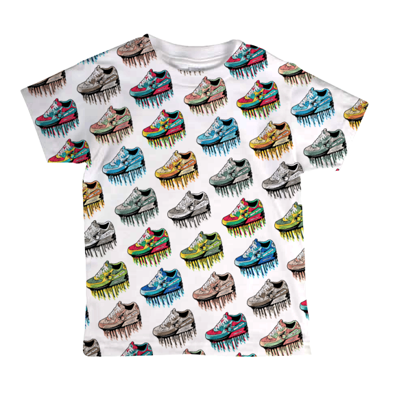 """Paper Trails"" Toddler Tee"