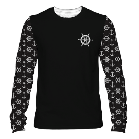 """Boats & O's"" Men's Long Sleeve Tee"