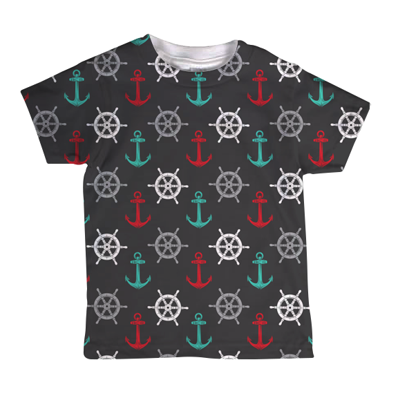 """Boats & O's"" Toddler Tee"