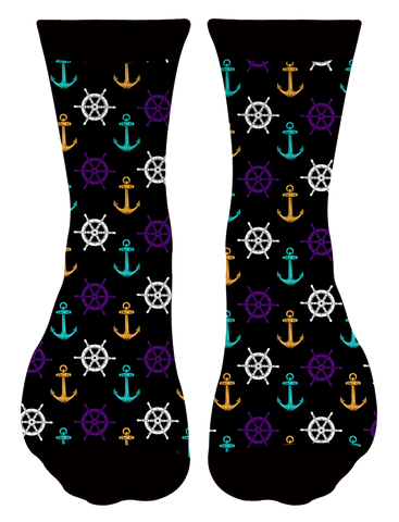 """Boats & O's"" Socks"