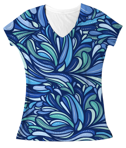 """Breeze""  Women's V-neck"