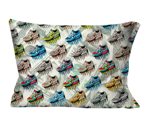 """Paper Trails"" Pillow Case"