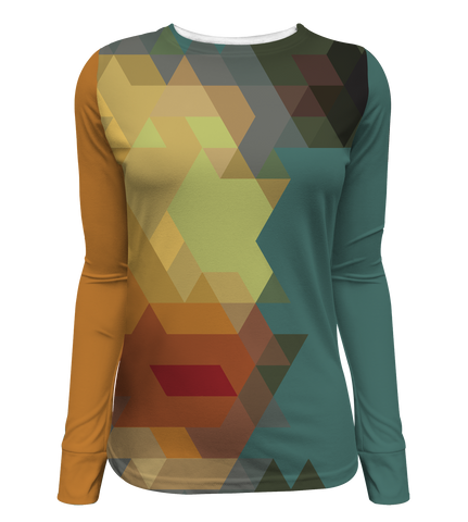 """Technicolor"" Women's Long Sleeve Tee"